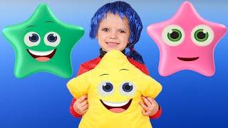 Cinco Pequeños Bebés - Cancion Infantil | Canciones Infantiles con Nicole