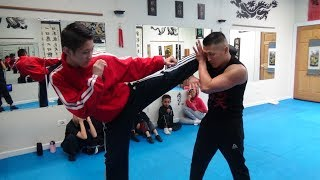 Ametuer Kung Fu Sparring