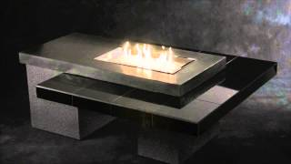 Outdoor Great Room Uptown Fire Pit Table With Tiled Table Top And Propane/natural Gas Burner