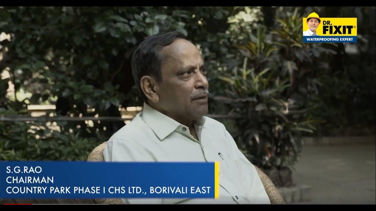 Dr. Fixit Customer Testimonial | Mr. S.G Rao