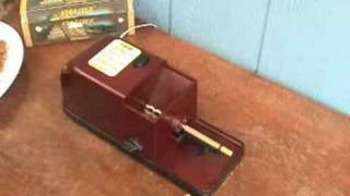 Repeat youtube video Easy Roller Electric Cigarette Rolling Machine
