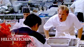 Andrea RUNS OUT Of Wellington | Hell's Kitchen
