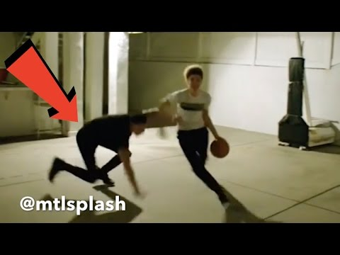 LAMELO BALL BREAKS LONZO BALL'S ANKLES!