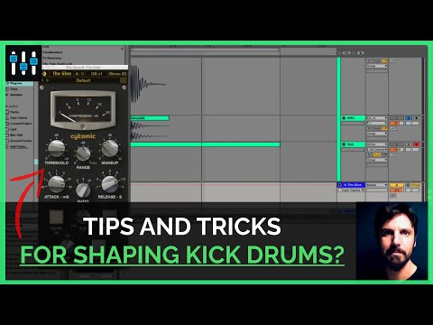 How to Shape the Sound of a Kick Drum to Fit Well in the Mix