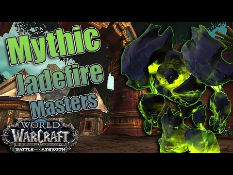 Battle for Azeroth - Mythic Battle of Dazar'alor Jadefire Masters Kill! Destruction Warlock POV!