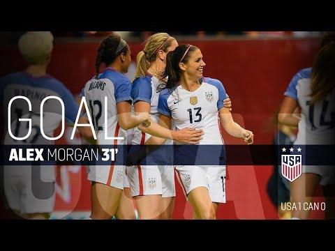 WNT vs. Canada: Alex Morgan Goal - Nov. 9, 2017