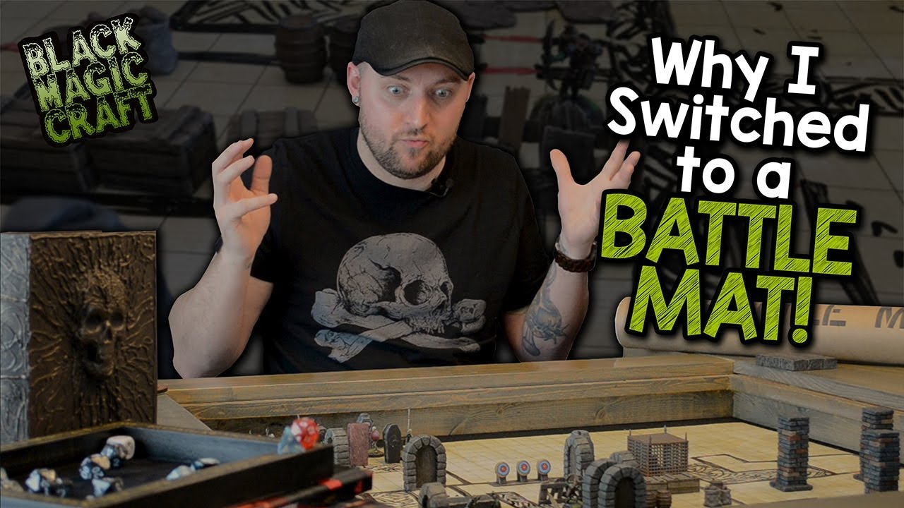 Why I Switched to a Battle Mat for D&D (Black Magic Craft Episode 063)