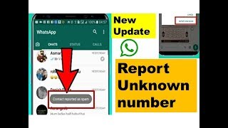 How to report people or groups on Whatsapp/whatsapp पर अनजान नंबर को रिपोर्ट कैसे करे|Report & Block