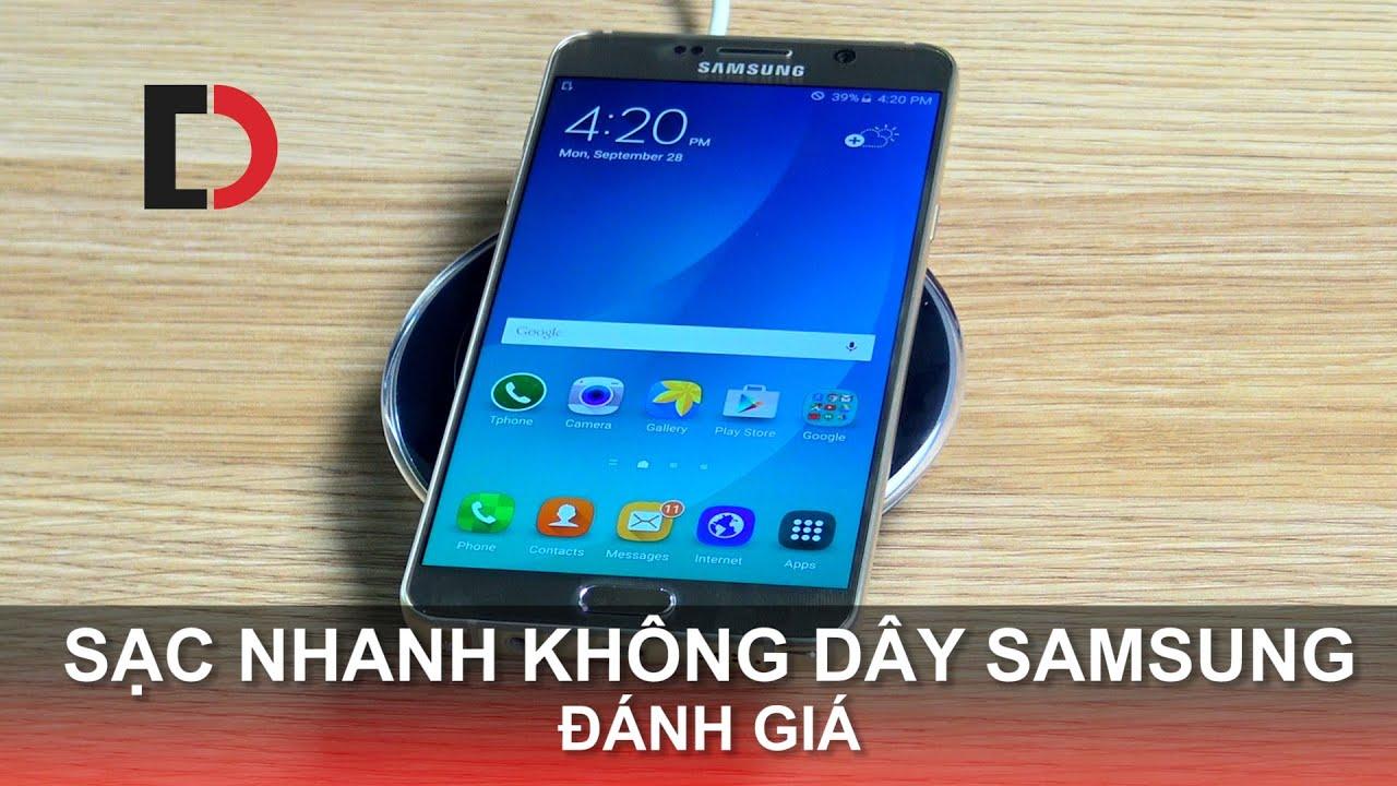 Di Động Việt – Đánh giá Sạc Nhanh Không dây Samsung cho Bộ đôi hoàn hảo Note 5 / S6 Edge