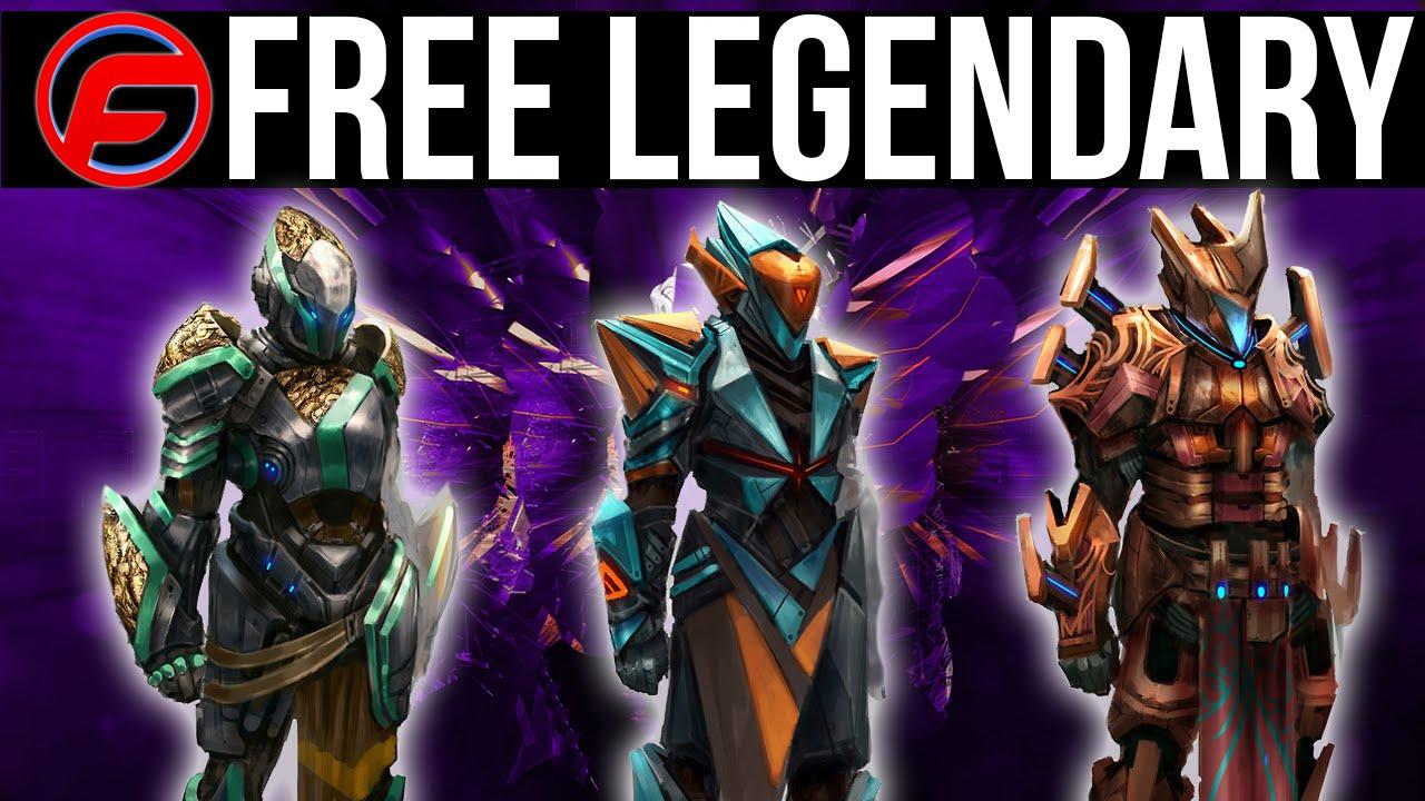 Destiny How To Get FREE LEGENDARY WEAPONS FREE LEGENDARY ...  Legendary