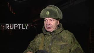 Syria: Russian sappers arrive in Syria for mine clearance operation in Aleppo