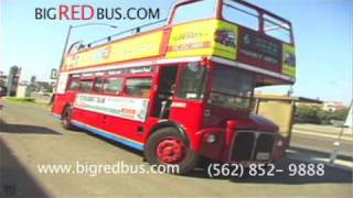Wine Tasting Tours on the Big RED Bus!