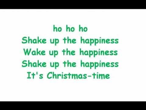 Train - Shake up Christmas Coca Cola Song Lyrics on Screen - YouTube