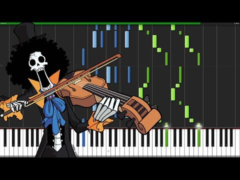 Bink's Sake - One Piece [Piano Tutorial] (Synthesia) // Marco Tornatore