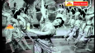 "Adhikara Madham - ""Telugu Movie Full Video Songs"" - Sangham(NTR,VijayanthiMala,AnjaliDevi)"