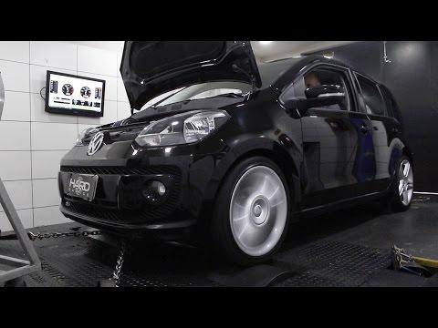VW Up TSi o primeiro 1.0 a encarar o dinammetro da Hard Garage Ranking Preparados FULLPOWER