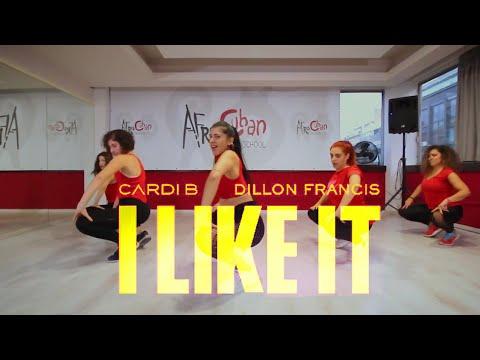 I Like It ~CardiB Bad BunnyJ Balvin  Reggaeton  Polina Roula