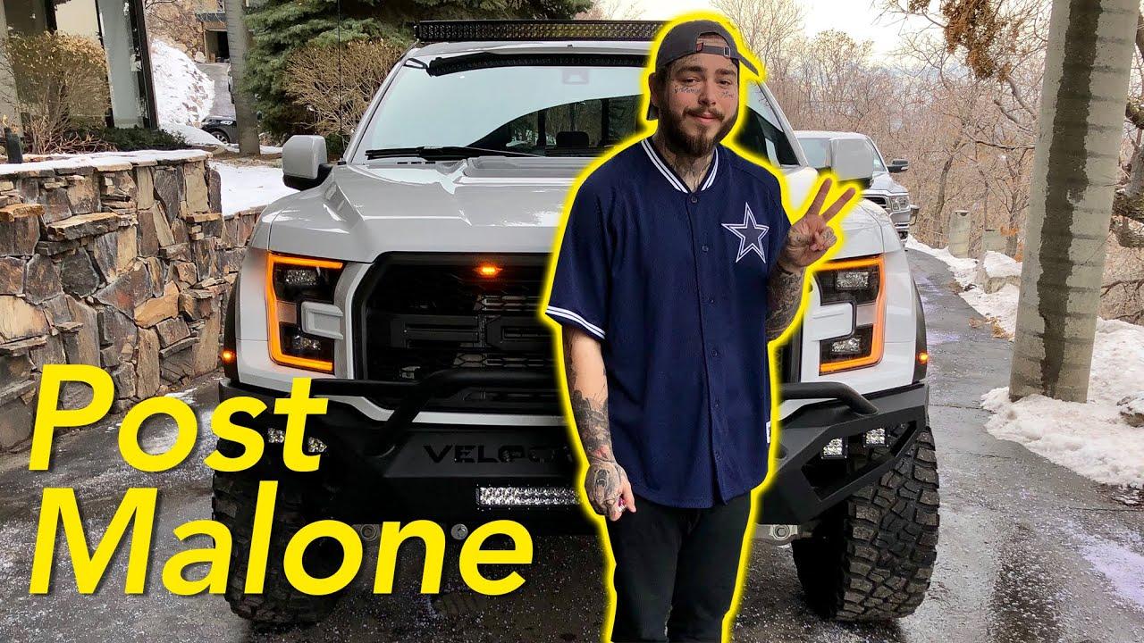 Post Malone's New Hennessey VelociRaptor 6x6 Truck