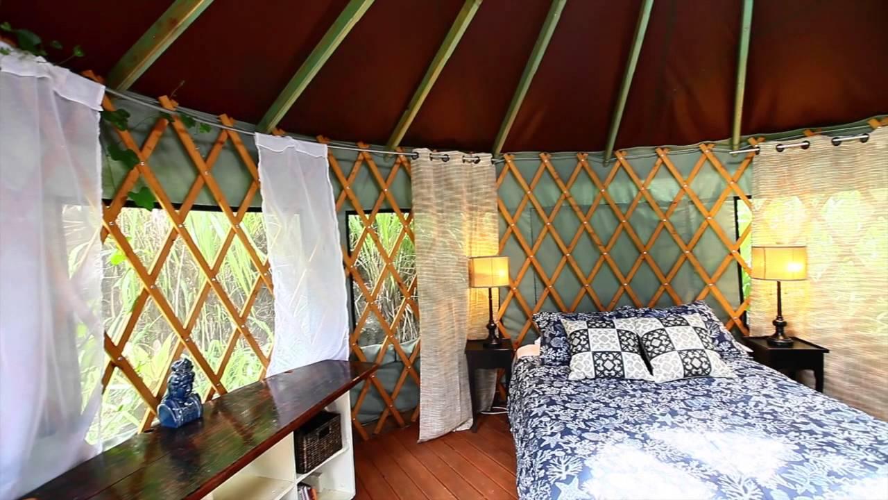 Furnished 16 Yurt Ohana Yurts In Hawaii