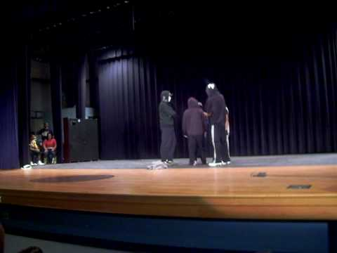 Dance Group - Marked Tree High School homecoming talent show 10/20/09