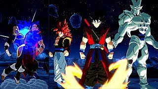 DRAGON BALL FighterZ All NEW Modified Characters Transformations & Ultimate Attacks #PT 2(EPIC MODS)