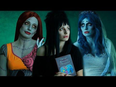 One Woman, Three Tim Burton Characters