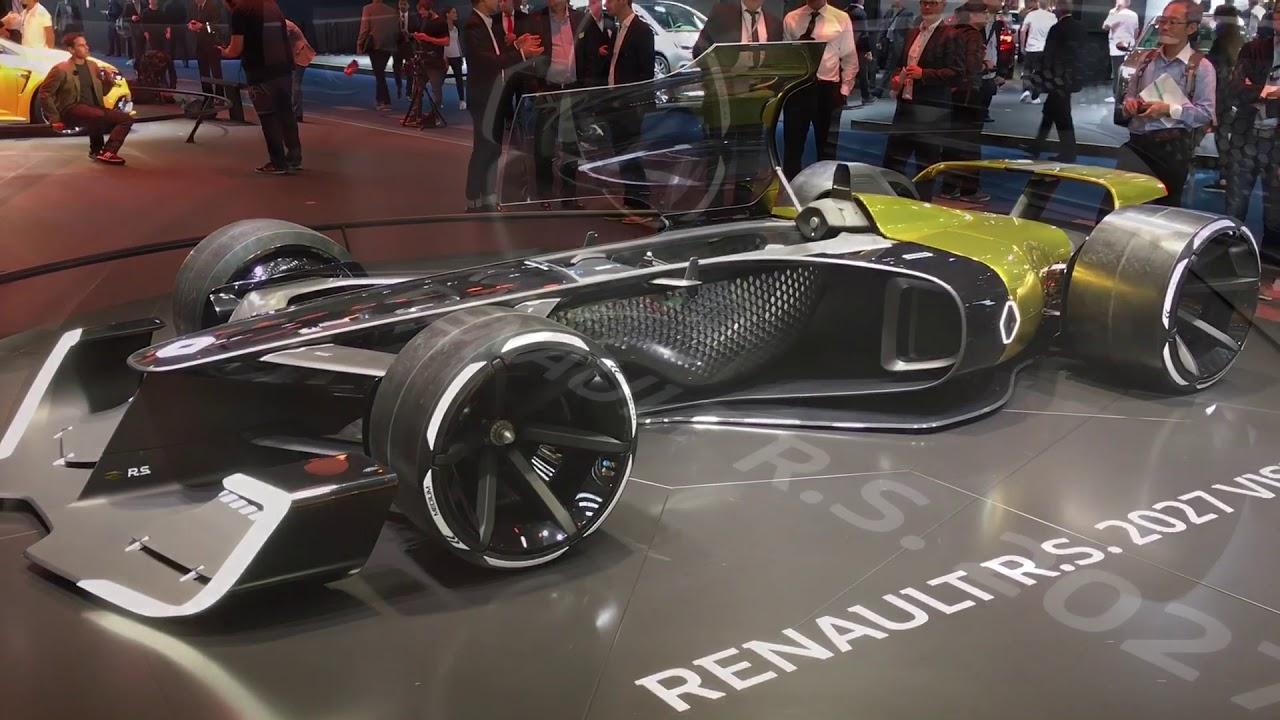 renault r s 2027 vision concept walkaround at frankfurt motor show 2017 youtube. Black Bedroom Furniture Sets. Home Design Ideas