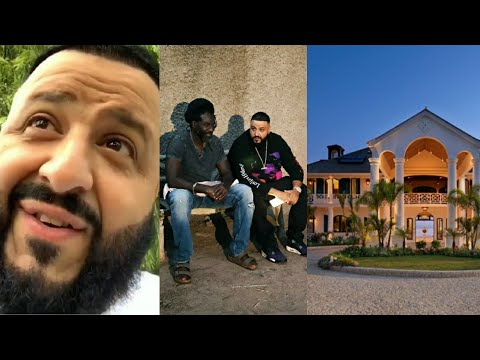 Dj Khaled To Buy Lavish MANSION In Jamaica After Visiting Buju Banton (VIDEO)