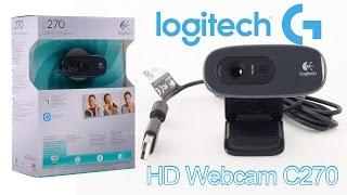 Обзор веб камеры Logitech C270