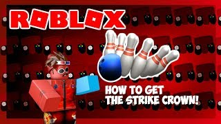 Event! | How to get the Strike Crown! | ROBLOX