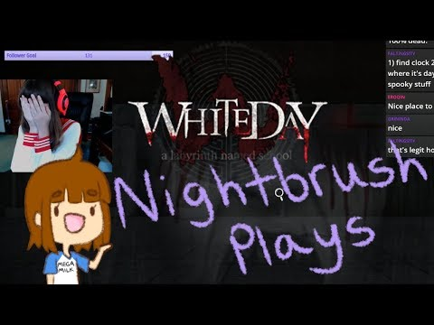 White Day: A Labyrinth Named School Pt. 1 | Bathroom Simulator 2017