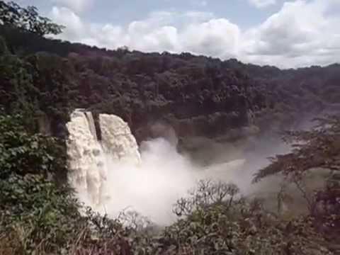 Ekom waterfall, near Melong town, Littoral Region, Cameroon