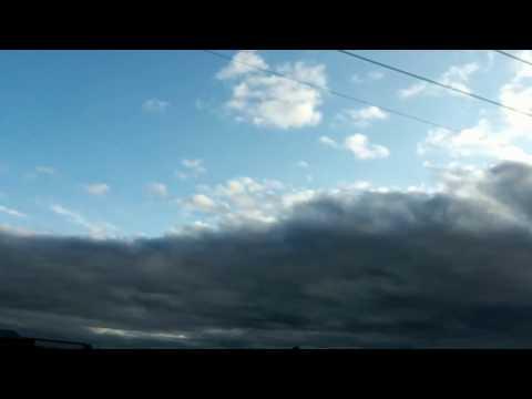 Something strange happened in the sky Terrell, TX April 22, 2017
