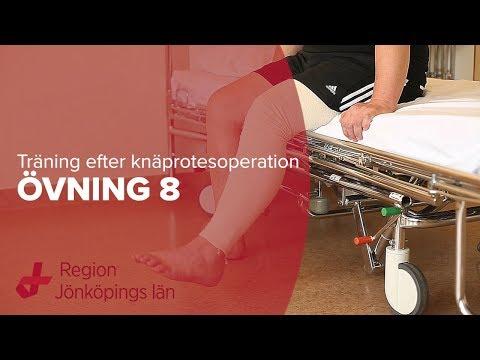 stel i knät efter operation