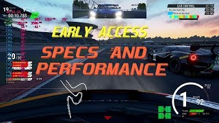 Early Access! Assetto Corsa Competizione:  Recommended systems spec and ingame performance
