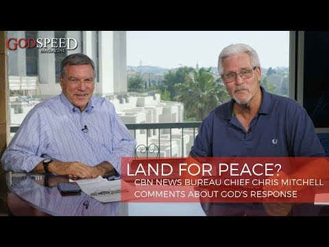 Middle East Peace Plan: What Is God's Response When Israel Trades Land For Peace?