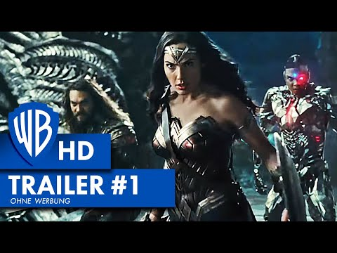 JUSTICE LEAGUE - Trailer #1 Deutsch HD German (2017)