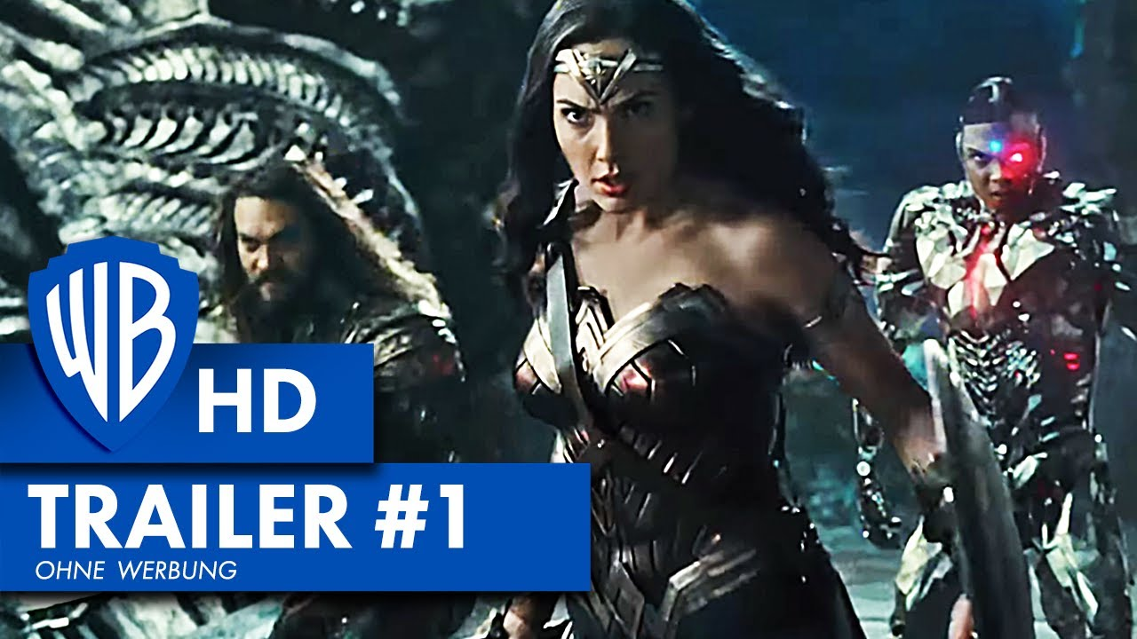 Justice League Trailer Deutsch
