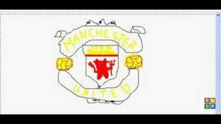 Manchester United Crest Graffiti Attempt