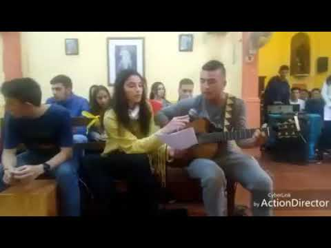 Nicolás Pajon y Julieta Hernández interpretando : LA GLORIA DE DIOS .