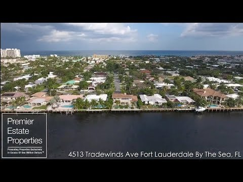 Luxury Real Estate Fort Lauderdale - 4513 Tradewinds Avenue, Fort Lauderdale By The Sea, Florida
