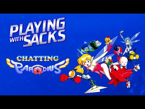 Chatting Parodius - Saturn - Playing with Sacks - YouTube