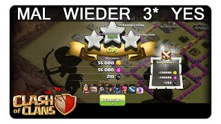 MAL WIEDER 3* YES || CLASH OF CLANS | Let's Play CoC | Deutsch