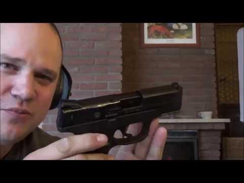 Urknall / Titan / Skullfire - 9mm PAK Kurztest mit Smith & Wesson M&P9c