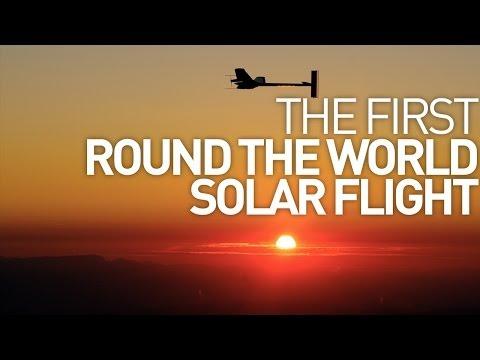 First Round-The-World Solar Flight - Solar Impulse