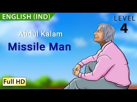 Abdul Kalam, Missile Man: Learn English (IND) with subtitles - Story for Children