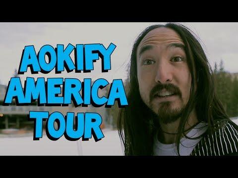 St. Louis ✈ Minneapolis ✈ Salt Lake City - Aokify America Tour #5 - On The Road w/ Steve Aoki #86
