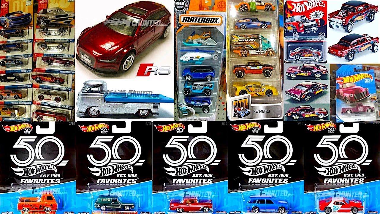 2018 Hot Wheels 50th Anniversary | Motavera.com