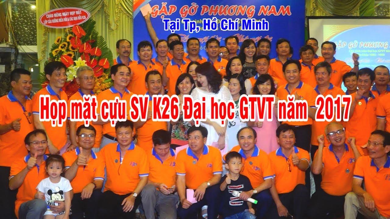 Gặp gỡ phương Nam Cựu SV Đại học GTVT K26 tại TpHCM