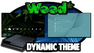 [PS4 THEMES] Dynamic Weed Theme Video in 60FPS